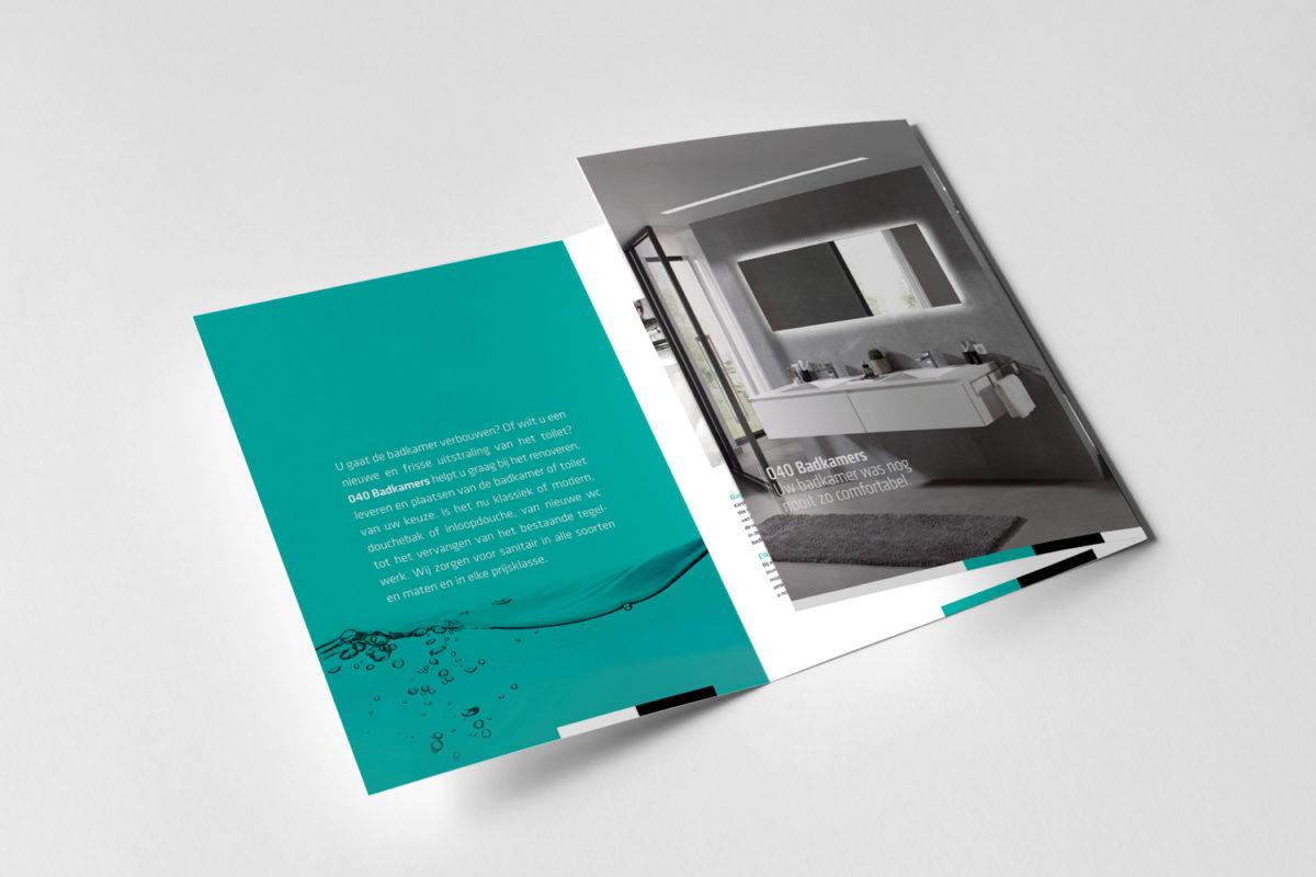 Brochure 040 Badkamers – Triggerontwerp